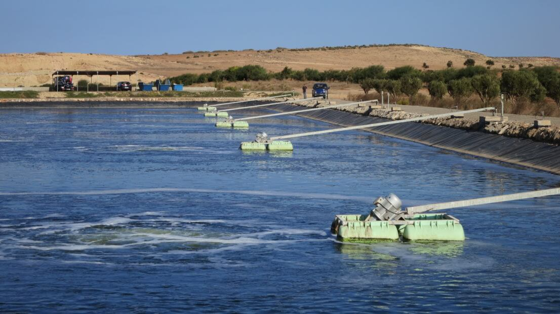 2_Aerated Lagoons, Municipal Wastewater, Morocco