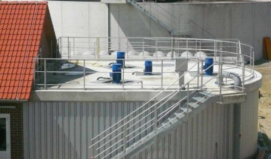Getrennt aerobe Schlammstabilisierung