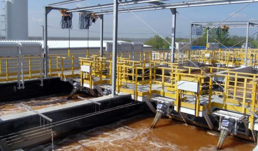 Mine water treatment with FUCHS OxyStar Aerators